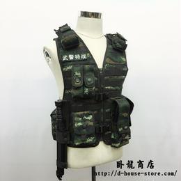 PAP CAPF 13式戦術背心 特戦迷彩 ベストセット