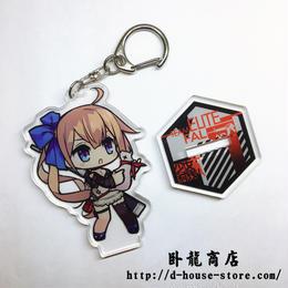 【少女前線】FAL 擬人キャラクター 立てるキーホルダー