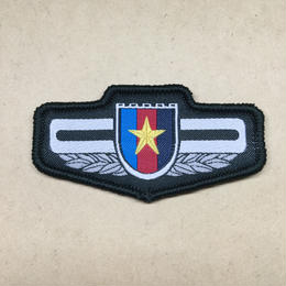 【15式中央軍委 直属単位】 PLA迷彩服 夏制服用 ベルクロ胸章