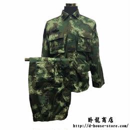 中国人民武装警察16式夏迷彩服上下セット