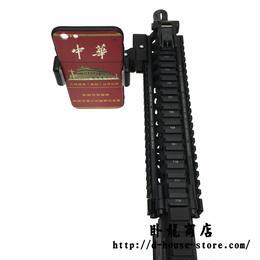 FPS視点撮影 20mmレイル対応 カメラマウント スマホーホルダー プラスチック製 オプションパーツ タイプB