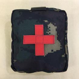 中国人民解放軍 猟人迷彩 医療器具ポーチ