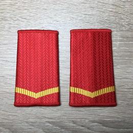 【列兵】中国人民武装警察 07式夏制服用 筒型肩章 階級章