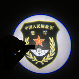 中国軍種マーク 部隊章ライト 陸軍 海軍 空軍 武装警察 公安警察