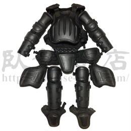 中国人民武装警察 機動隊 アンチライオットスーツ 防暴ボディアーマー 防具 実物中古品