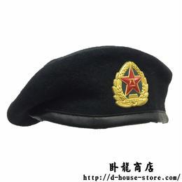 中国人民解放軍07式ベレー帽 海軍