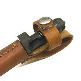  中国人民解放軍56式自動小銃銃剣スパイクナイフ用革製スパイクカバー