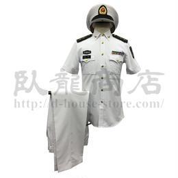 中国人民解放軍 07式海軍 軍官半袖夏制服 一式セット
