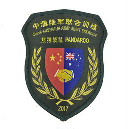 中豪陸軍連合訓練2017年 部隊章
