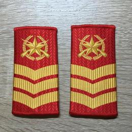 【コレクター商品】中国人民武装警察99式 筒式肩章 六級士官
