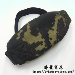 中国人民解放軍 07式 猟人迷彩 ナイロン製ゴーグルカバー