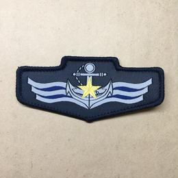 中国人民解放軍海軍07式(15式)迷彩服用布製胸章
