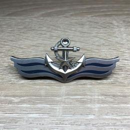 中国人民解放軍07式制服用金属胸章 海軍
