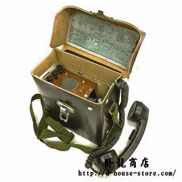中国人民解放軍65型電話通信機 中古品