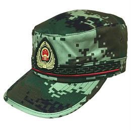 中国人民武装警察16式迷彩服 夏迷彩帽子
