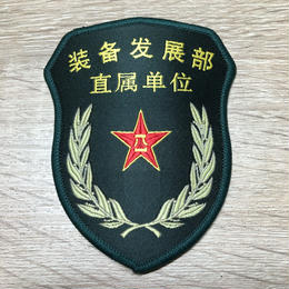 【装備発展部 直属単位】中国人民解放軍 15式 中央軍委部隊章