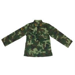 【実物生産停止】中国人民武装警察07式夏迷彩服上下セット(肩章バージョン)