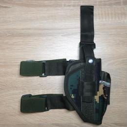 【右利き用】92式拳銃用ホルスター特種兵猟人迷彩 ナイロン素材
