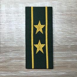 【中校】武装警察特戦&特種兵用 片腕ベルクロ階級章