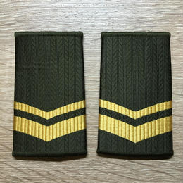 【コレクター商品】中国人民解放軍97式 陸軍 筒式肩章 下士