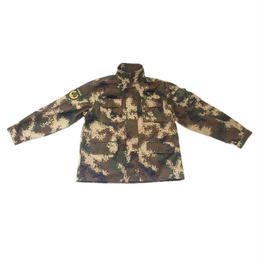 【実物】中国人民武装警察07式冬迷彩服上下セット 襟章バージョン