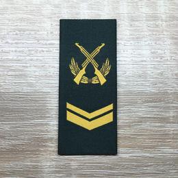 【上士】武装警察特戦&特種兵用 片腕ベルクロ階級章