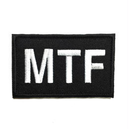 【8cmX5cm】SCP財団 Mobile Task Forces機動部隊 刺繍ベルクロワッペン マジックテープ 識別章