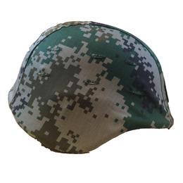 中国人民解放軍07式陸軍 林地迷彩 ヘルメットカバー