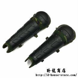 中国人民武装警察 FBHTーA01タイプ 防暴機動隊 足用防具 レッグガード