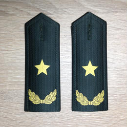 【少将】中国人民解放軍 陸軍 07式夏制服用 軟肩章 階級章