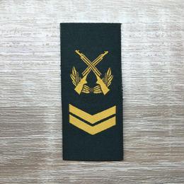 【四級軍士長】武装警察特戦&特種兵用 片腕ベルクロ階級章