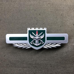 中国人民解放軍制服用金属胸章 戦区 2016版