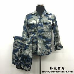 【実物保証】中国人民解放軍07式 城市迷彩服 上下セット