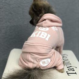 TEAM83スウェットパンツ(ピンク)
