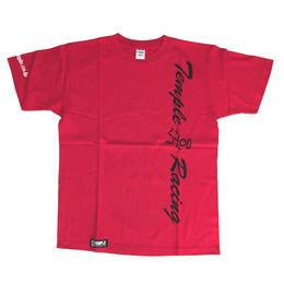 temple 縦ロゴ Tシャツ