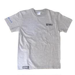 TEMPLE シンプルTシャツ グレー