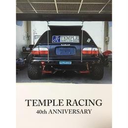 《数量限定》TEMPLE RACING 40th ANNIVERSARY 2018年オリジナルカレンダー