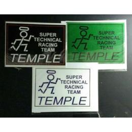 TEMPLE チームステッカー スクエア
