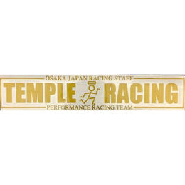 TEMPLE RACING カッティングステッカー 30サイズ
