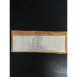 TEMPLE 定番切り抜きステッカー ミディアムサイズ
