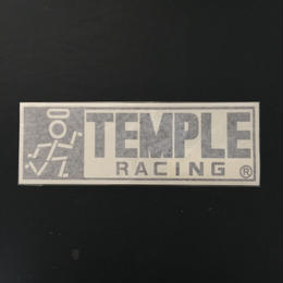 TEMPLE RACING 定番カッティングステッカー スーパーBIGサイズ