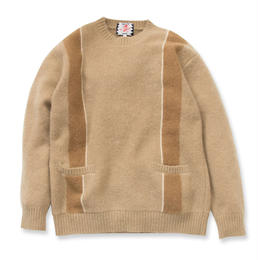 SON OF THE CHEESE   Skins knit(BEIGE)