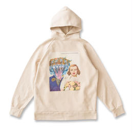 SON OF THE CHEESE   moon patrol hoodie (BEIGE)