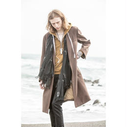 Western Chesterfield Coat. -Melton Wool-