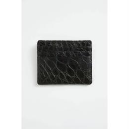 6 Pocket Card Case.            -Crocodile-