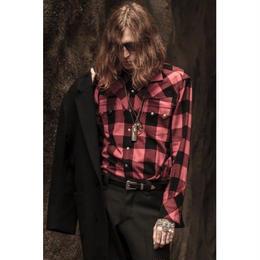 Western Harry Shirt. -Buffalo Check Flannel-