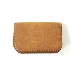 CARD CASE (CAMEL)