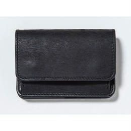 COIN & CARD CASE (BLACK)