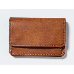 COIN & CARD CASE (CAMEL)