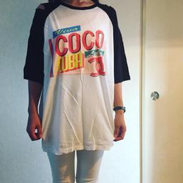 ベースボールダメージTシャツ☆ladies